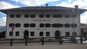 Hotel Bivera parte frontale